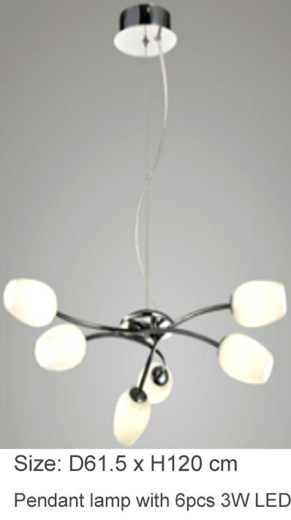 pendant light, classic and elegant style