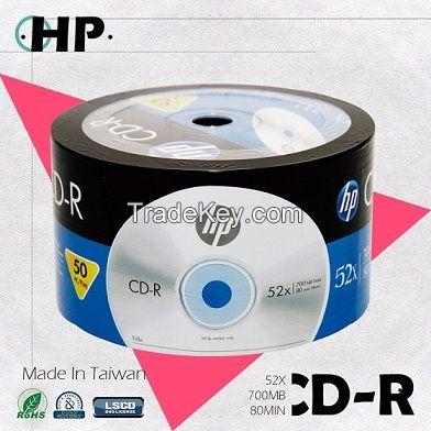 HP Blank CD-R Logo 52X 700MB 80min