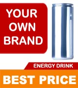 Your own brand Energy Drinks