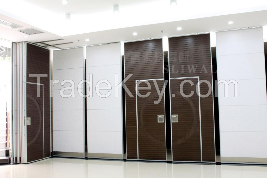 China aluminium soundproof office partition