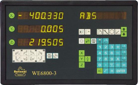 Metrology Counter WE6800-3
