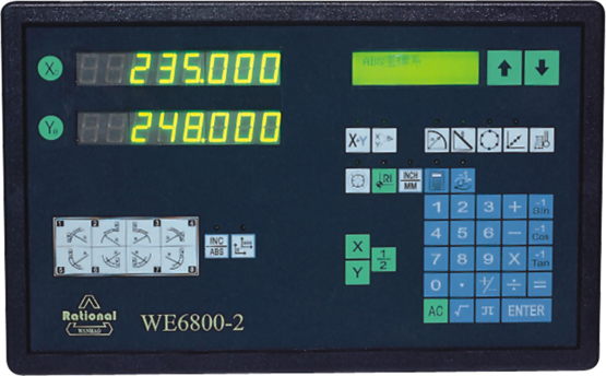 Digital Readout system WE6800-2