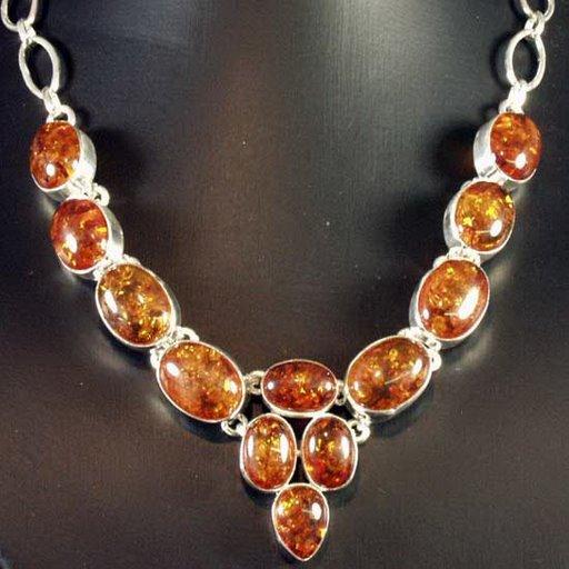 carbuncle   necklace