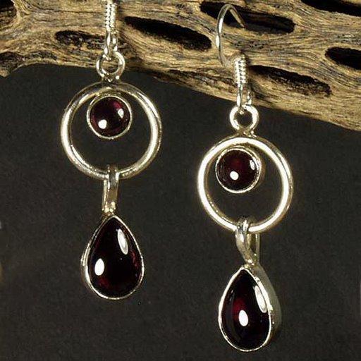 rare  amethyst earring