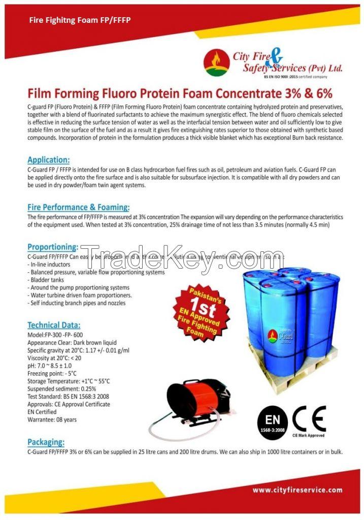 Flouro Protein Fire Fighting Foam