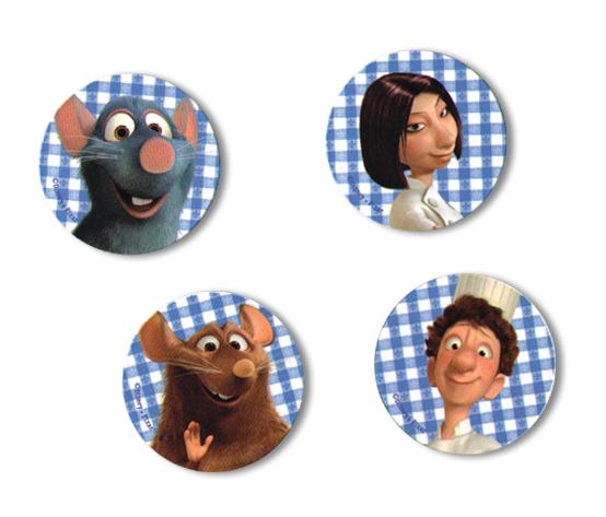 Fridge Magnet Stickers