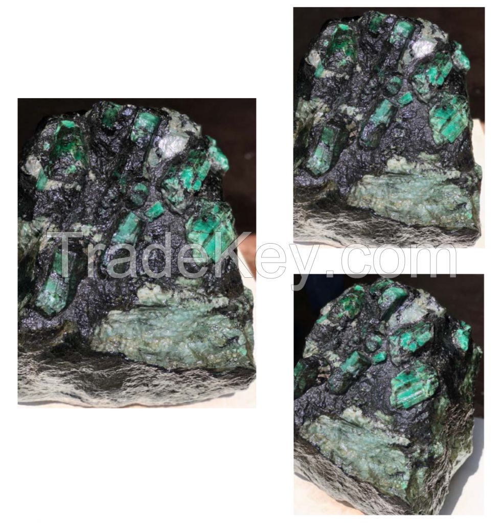Emerald Rough Matrix