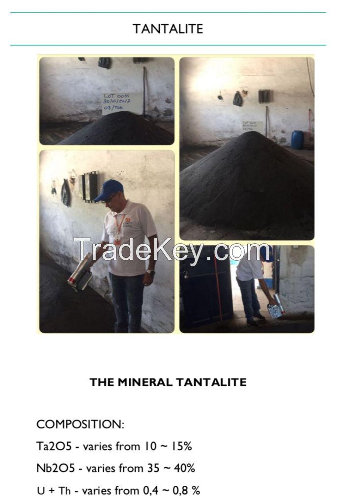 Tantalite Ore Concentrate 15% Ta2O5 low grade