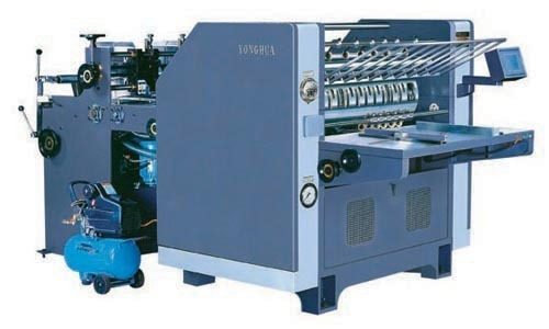 Semi Automatic Cardboard Laminating Machine