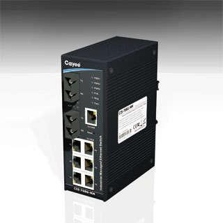 8-port industrial Redundant Ethernet Switch