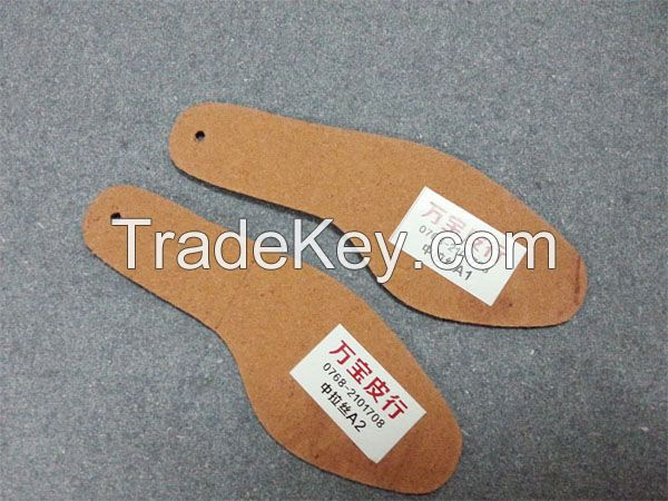 shoes insole  board leather green board PKZ-LS