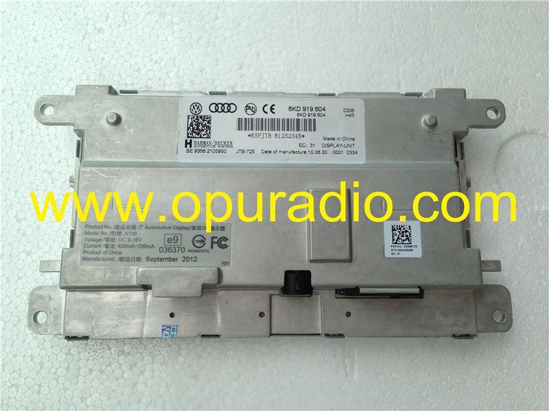 car radio repair parts for Harman Becker 8KD 919 604 LCD