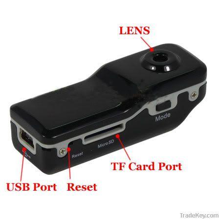 Mini DV Sports Video Recorder Spy Camera Camcorder TIG-MD80
