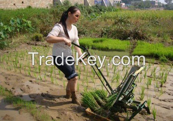 Heavy Duty 2 Rows Manual Rice Transplanter