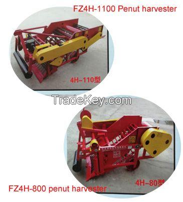 Peanut harvester machine / tractor connecting peanut harvesting machine