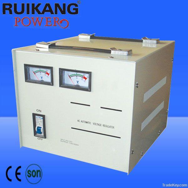 SVC-3000VA, AVR, automatic voltage stabilizer , Servo motor type