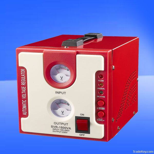 New arrival, SVR-1500VA, AVR, automatic voltage stabilizer , relay type