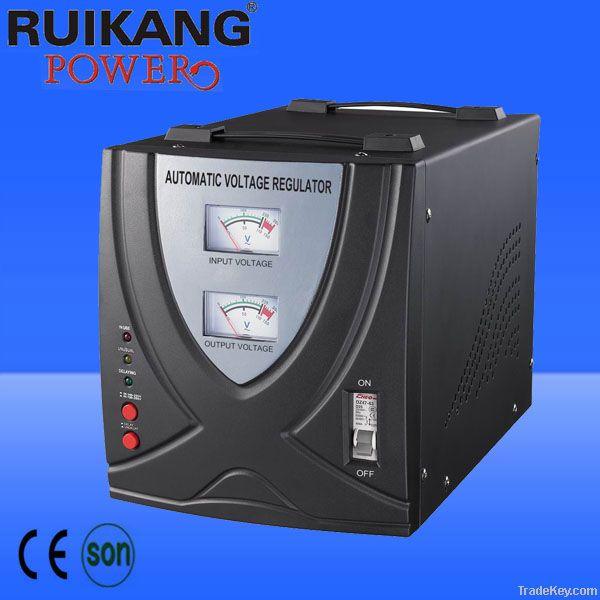 BVR-5000VA, AVR, automatic voltage stabilizer , relay type