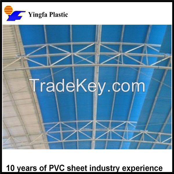 Cheapest greenhouse roof material translucent FRP plastic sheet