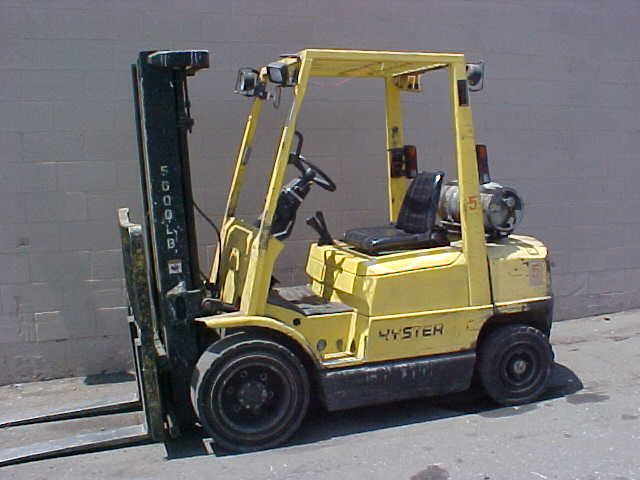 Hyster Forklift Model H50XM By Joes Forklift Co , Inc , USA