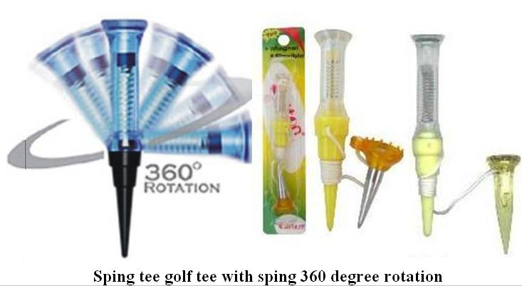 New Golf Tees