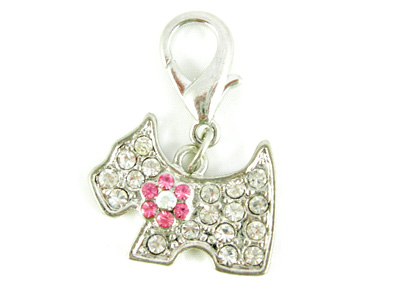 crystal pet charms