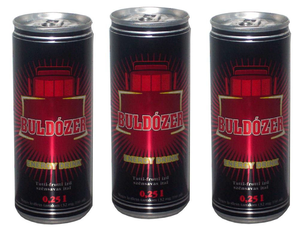 Buldozer 250ml can energy drink