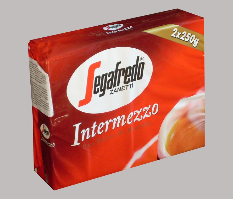 Segafredo intermezzo coffee 2x250g