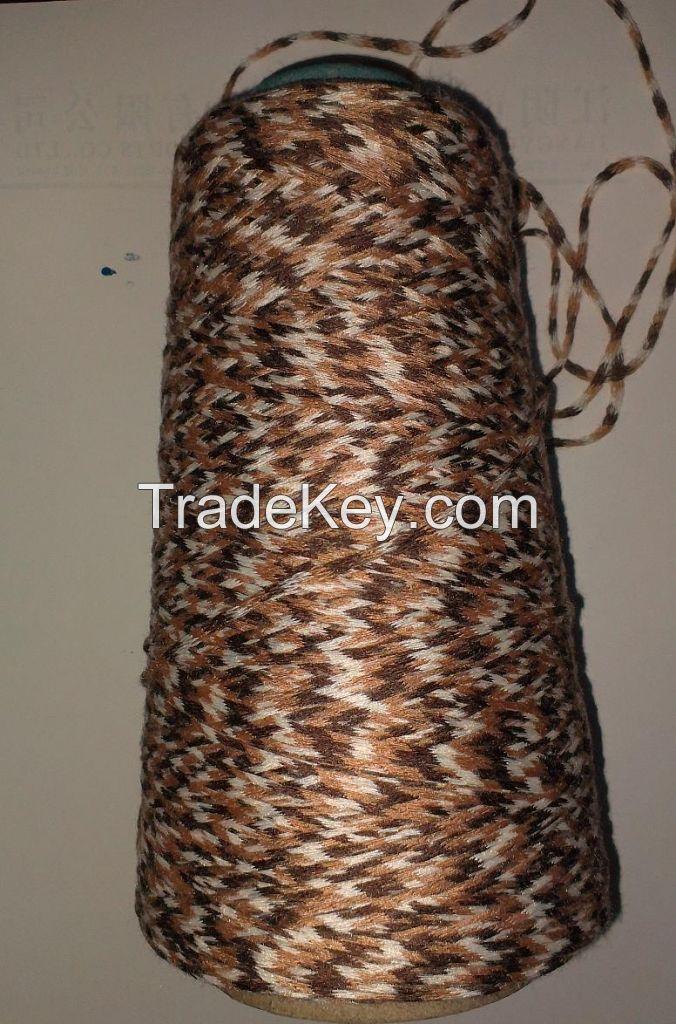 Section Dyed Tube Yarn Fancy Yarn