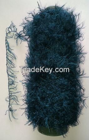 100%Polyester Feather Yarn Fancy Yarn