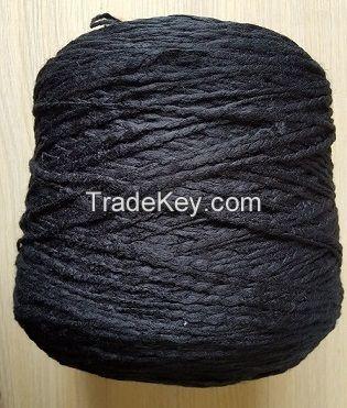 100%acrylic fancy yarn slub yarn big-belly yarn