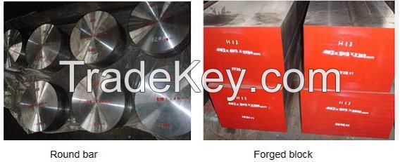Hot worked tool steel H13