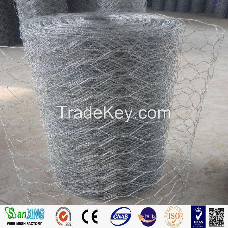 anping Manufacturer Galvanized/PVC coated Hexagonal Wire Mesh /Livestock Wire Netting
