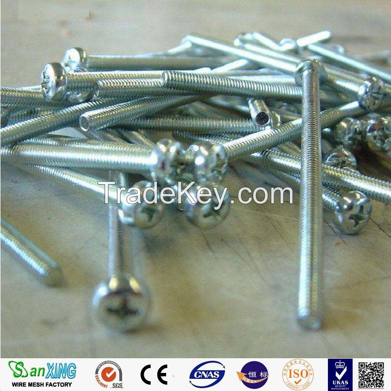 Hot-selling polished common nails/roofing nails/flat head nails from Anping Sanxing