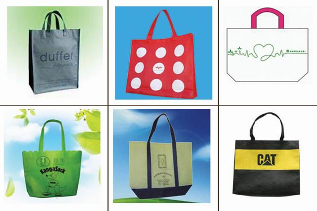 Nonwovens shopping bags