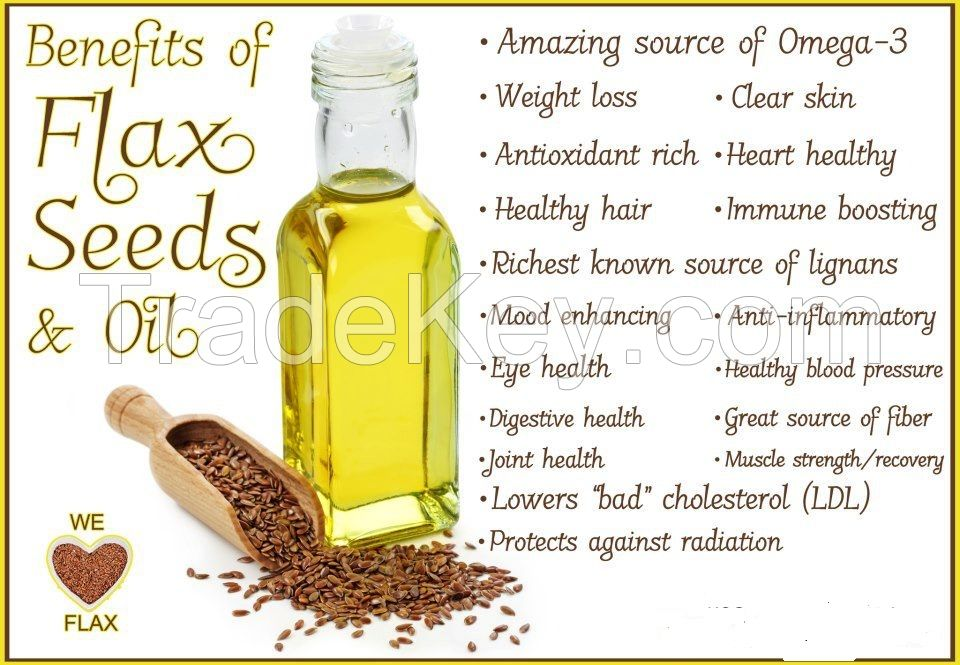 Flaxseed oil from Egypt