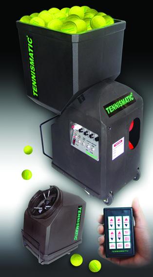 TENNISMATIC Tennis Ball Machines T101