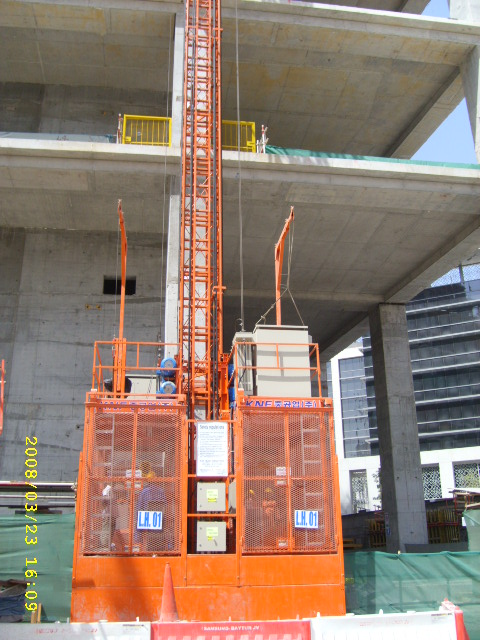 Construction Elevator KNFL Series-High Speed
