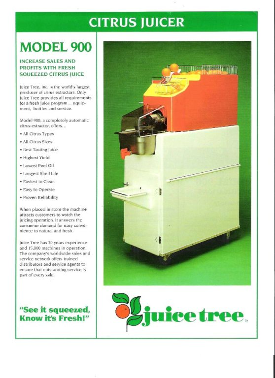 juice extractor   (Juice tree)