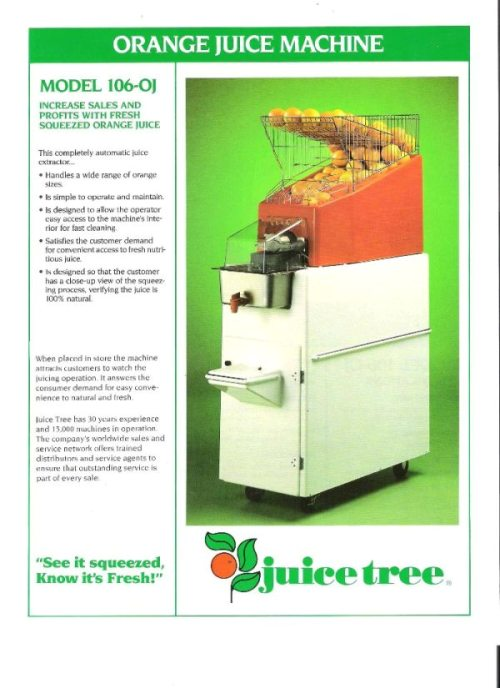 automatic juice extractor (juice tree)
