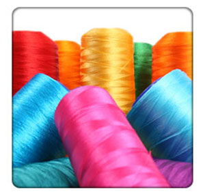 100% egyptian cotton yarns which dyed and mercerized