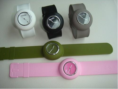 Silicon Slap Watches