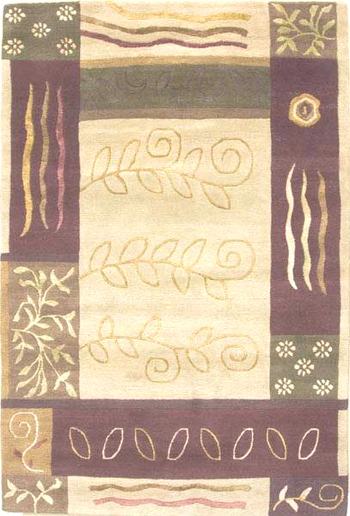 Handmade Tibetan Rug from Nepal