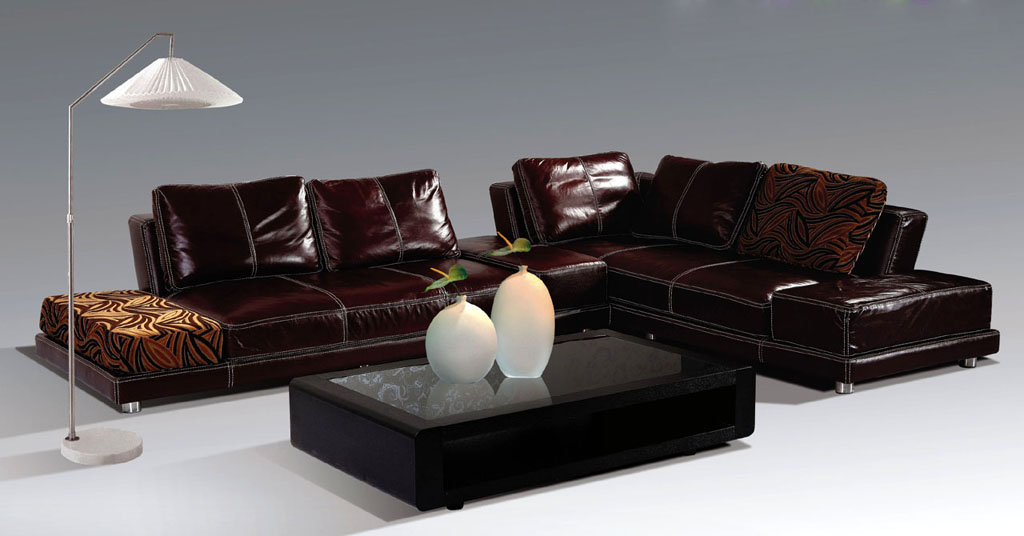 sectional leather couches