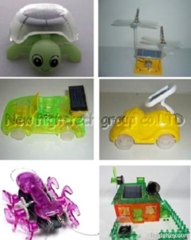 solar powered toy
