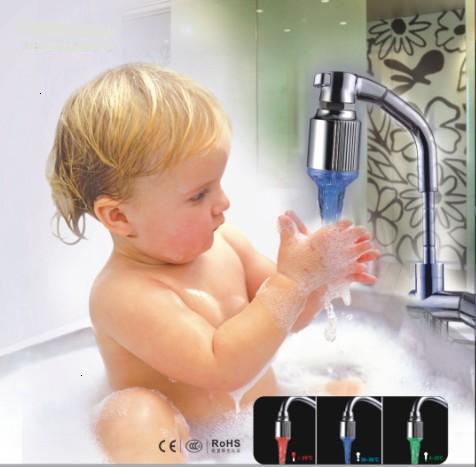 led  faucet light