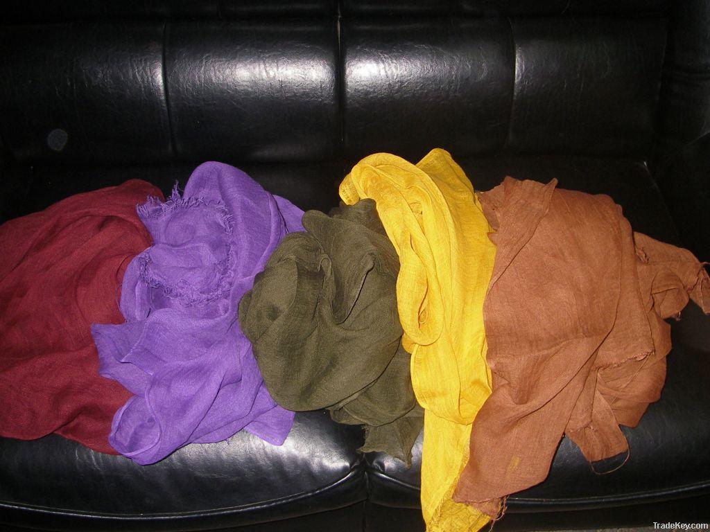 Eco scarves