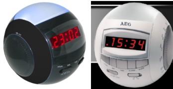 LED Clock Radio