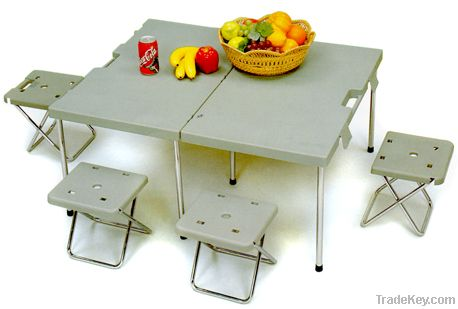 Camping Picnic Table Set