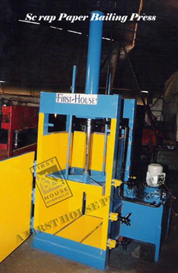paper bailing press
